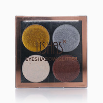 Glitter Eyeshadow Quad by Ushas Cosmetics