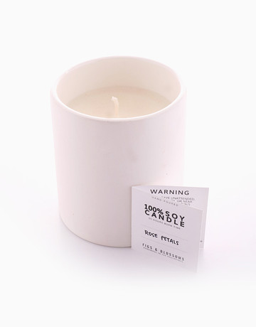 Soy Candle (220g) by Figs & Blossoms
