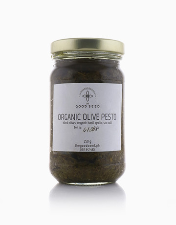Organic Black Olive Pesto by The Good Seed
