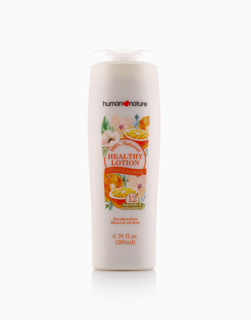Orange Sunrise Healthy Lotion by Human Nature