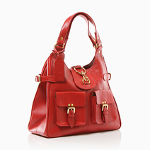 Katharine Leather Tote Bag  by Sinude