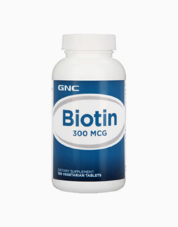 Biotin 300 mcg (100 Tablets) by GNC