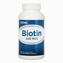 Biotin 300 mcg (100 Tablets) by GNC in