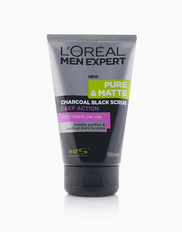 Charcoal Black Scrub by L'Oreal Paris
