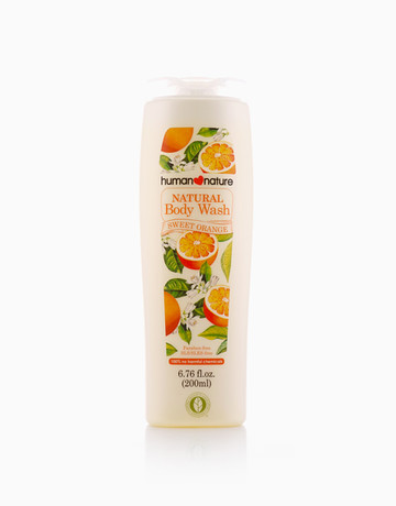 Sweet Orange Body Wash by Human Nature