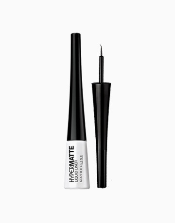 Hypermatte Liquid Liner (Black) by Maybelline