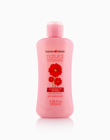 Feminine Wash with Tea Tree by Human Nature