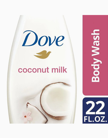 Body Wash Coconut Milk 22oz by Dove