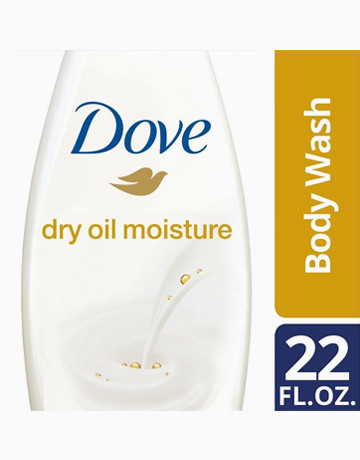 Body Wash Dry Oil Moisture 22oz by Dove