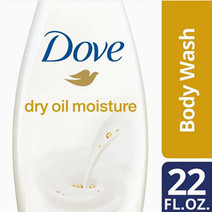 Body Wash Dry Oil Moisture 22oz by Dove