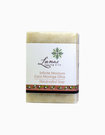 Coco Moringa Bar Soap by Lunas Living Oils