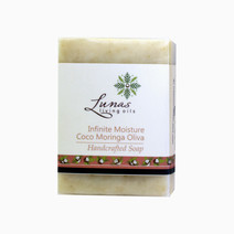 Lunas living oils infinite moisture coco moringa oliva bar soap