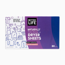 Betterlife dryer sheets fabric softening (80 sheets) lavendergrapefruit