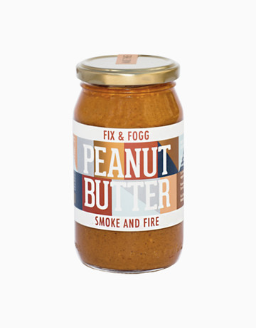 Smoke & Fire Peanut Butter (375g) by Fix & Fogg