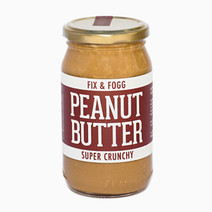 Crunchy Peanut Butter (375g) by Fix & Fogg