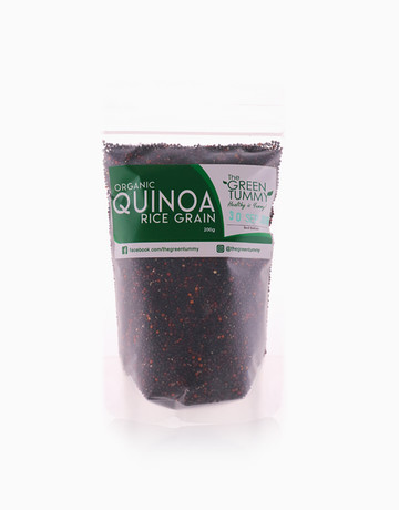 Organic Black Quinoa (200g) by The Green Tummy