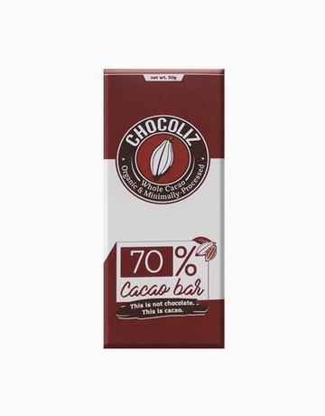 70% Cacao Bar by Chocoliz