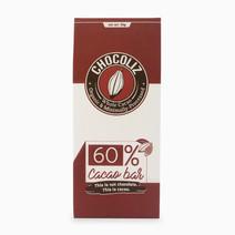 60% Cacao Bar by Chocoliz