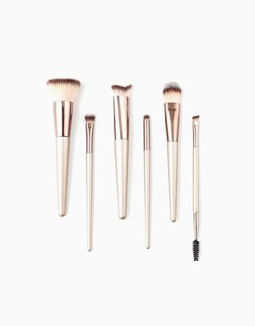 6-Piece Makeup Brush Set by Brush Work