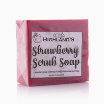 Strawberry Scrub Soap by Highland's