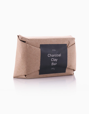 Charcoal Clay Bar by Wilo Skin