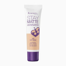 Rimmel stay matte liquid mousse foundation in soft beige
