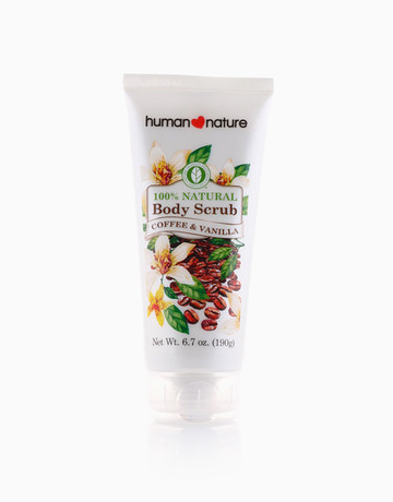 Coffee & Vanilla Body Scrub by Human Nature