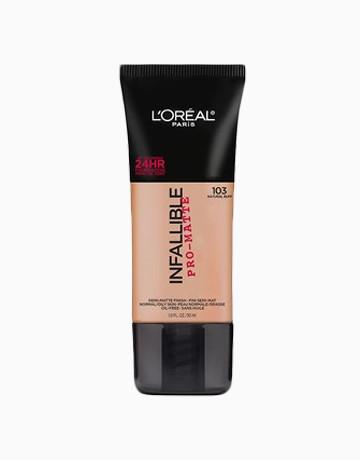 Infallible Pro-Matte FDTN by L'Oréal Paris