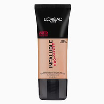 Infallible Pro-Matte FDTN by L'Oreal Paris in Natural Buff