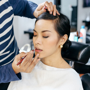 Makeup with Blow-dry by Creative Director by Hair Salon Hide2A from Tokyo