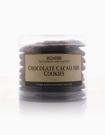 Chocolate Cacao Nib Cookies (180g) by Pili & Pino