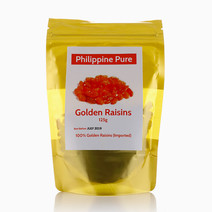 Golden Raisins (125g) by Philippine Pure
