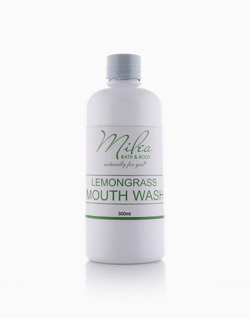 Organic Lemongrass Mouthwash (300ml) by Milea