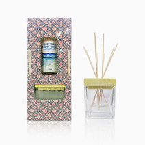 Dark Blue Reed Diffuser Gift Set Ocean Breeze Scent with Free POREX Reed Sticks by Pure Bliss