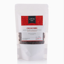 Cacao Nibs Coated With Coconut Sugar (100g) by Cacao Culture Farms