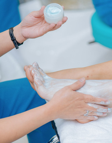 Luxury manicure with foot spa therapy plus 3