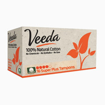 Veeda super plus tampons (applicator free)