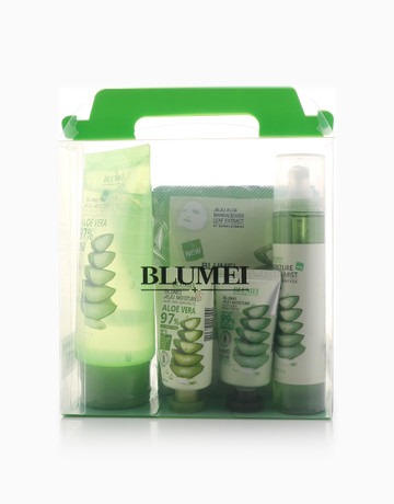 Jeju Aloe Vera Set + FREE Gel by Blumei