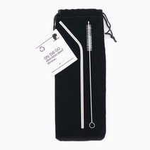 Stainless Steel Straw Set by TRVLR