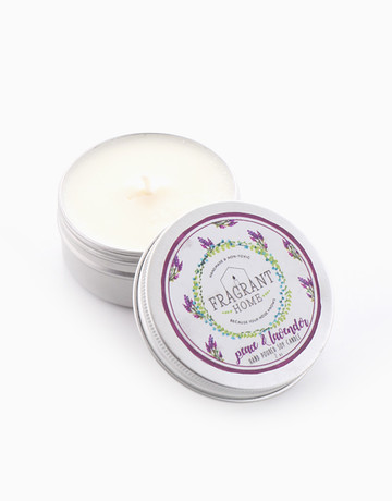 Peace & Lavender (2oz) by Fragrant Home Candles