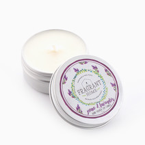 Peace & Lavender Soy Candle in Tin (2oz) by Fragrant Home Candles