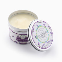 Peace & Lavender Soy Candle in Tin (6oz) by Fragrant Home Candles