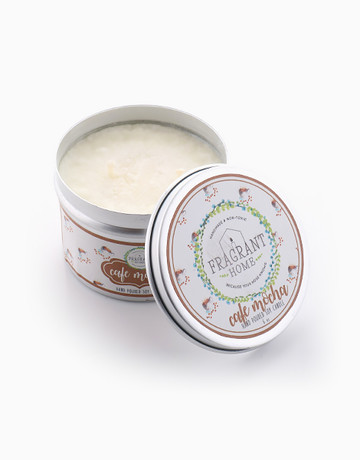 Café Mocha Soy Candle in Tin (6oz) by Fragrant Home Candles