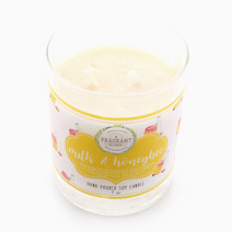 Milk & Honeybees Soy Candle (7oz) by Fragrant Home Candles