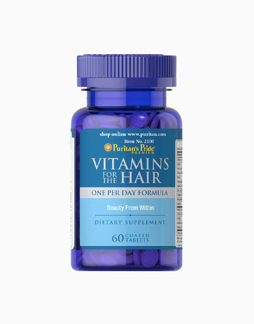 Vitamins for the Hair (60 Tablets) by Puritan's Pride