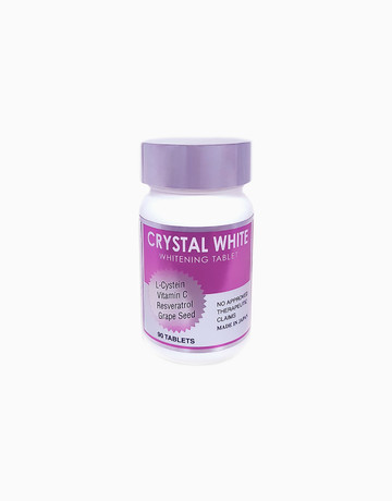 Crystal White Skin Supplement (90 Tablets) by Crystal White