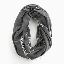 Frayed Infinity Scarf by Vain Accessories