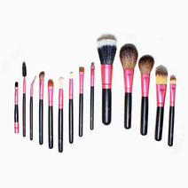 14-Piece Travel Pro Brush Set by Charm