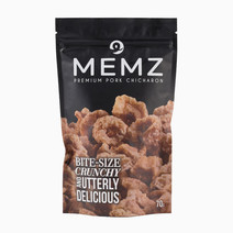 Memz No Oil Premium Pork Chicharon (70g Pack) by Memz Premium Pork Chicharon