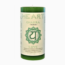 Heart Chakra Candle  by Resveralife